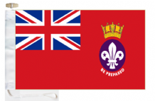 Royal Navy Recognised Sea Scouts Ensign Courtesy Boat Flags (Roped and Toggled)